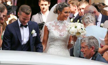 Στον γάμο του συμπαίκτη του ο Wayne Rooney