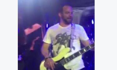 Ο μπασίστας του Robbie Williams στους Onirama