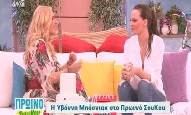 Μπόσνιακ: Η πρώτη τηλεοπτική συνέντευξη μετά τη γέννα και οι αποκαλύψεις της για τον Ρέμο