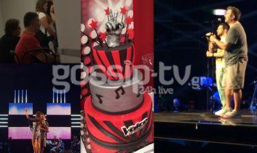 Τελικός The voice 2: Το gossip-tv στα παρασκήνια του σόου