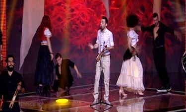 Τελικός The voice 2: Ξεσήκωσε ο Αγέρης με το τραγούδι του!