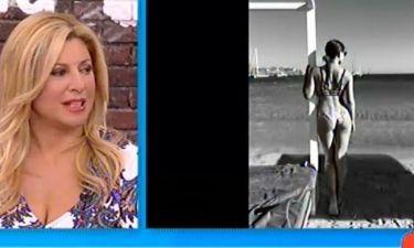 Η Χριστίνα Πολίτη «σπάστηκε» με τη φωτογραφία της Οικονομάκου με μπικίνι!