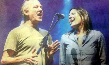 Όλγα Κεφαλογιάννη: Τραγούδησε με Πλιάτσικα και Μηλιώκα