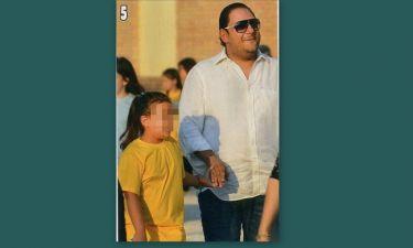 Στέλιος Διονυσίου: Στην σχολική γιορτή της κόρης του