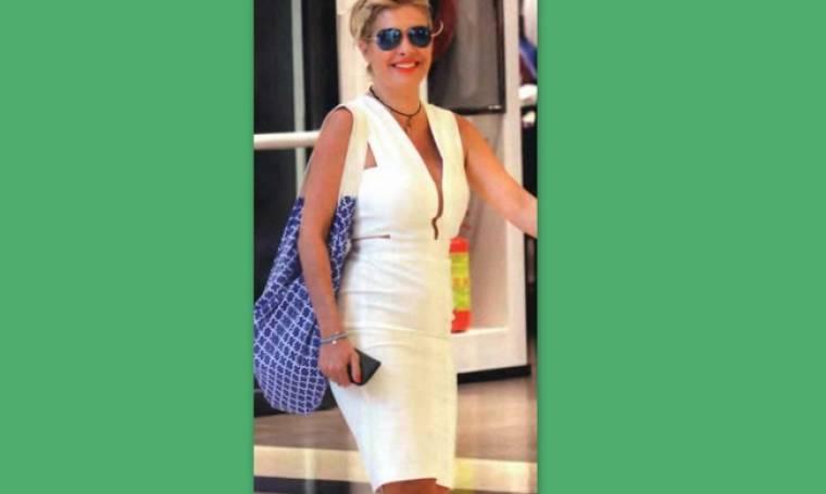 Ελένη Μενεγάκη: Τελευταία ψώνια πριν τις διακοπές της