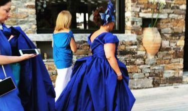 Χλιδή και πολυτέλεια στον γάμο εκατομμυρίων στην Τζια (φωτό)
