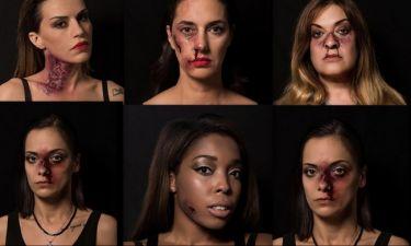 Επώνυμες κυρίες της σόουμπιζ σε καμπάνια κατά της βίας