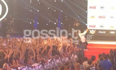 MAD VMA 2015: Ο Γεωργαντάς και η selfie με το κοινό