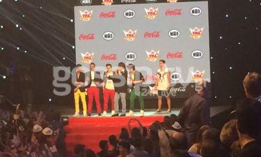 MAD VMA 2015:  Οι χοντράδες του Ψινάκη και η αμηχανία του Γεωργαντά