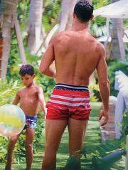 Κριστιάνο Ρονάλντο: Στιγμές με το γιο του