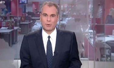 Τέλος από τη διεύθυνση ειδήσεων του Mega o Στραβελάκης