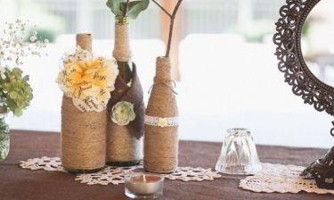 DIY Διακόσμηση βάζων για τη βεράντα σας και όχι μόνο!