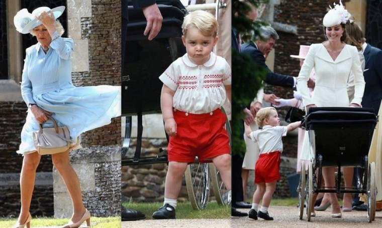 Το upskirt της Καμίλα, η γκρίνια του Πρίγκιπα Τζορτζ και το πανάκριβο φόρεμα της Middleton!