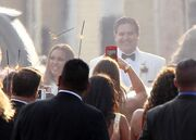 Οι πρώτες φωτογραφίες από τον γάμο γνωστής ηθοποιού