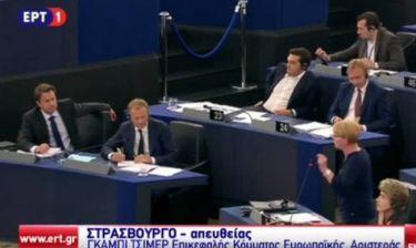 Ευρωκοινοβούλιο - Απάντηση Τσίμερ σε Βέμπερ: Δεν είσαστε στη Βαυαρία (video)