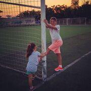 Δέσποινα Καμπούρη: Δείτε την να γυμνάζεται με τη κόρη της