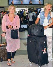 Δείτε με πόσες βαλίτσες ταξίδεψε στη Ρόδο η Σπυροπούλου