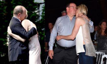 Αγκαλίτσες και φιλάκια για πριγκιπικό ζεύγος! (φωτό)