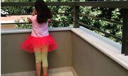 Απολαμβάνει τη μέρα με την «πριγκίπισσά» της