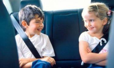 Φτάνει πια! Τα παιδιά πρέπει να φορούν τη ζώνη ασφαλείας στο αυτοκίνητο!