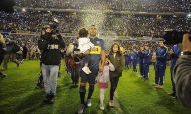 Γκρέμισαν... το Bombonera για τον Τέβεζ! (photos+videos)