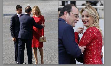 Φρανσουά Ολάντ: «Του πετάχτηκαν τα μάτια έξω» με τη  γυναίκα του Μεξικανού Προέδρου