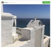 Γιώργος Λιάγκας: Οι νέες φωτογραφίες από τις διακοπές του στην Τήνο