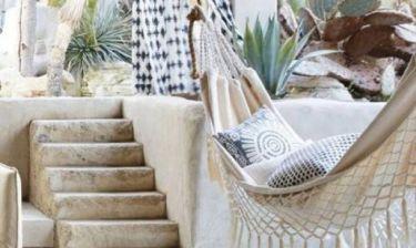 Relax time: Φτιάξε τη δική σου αιώρα για τον κήπο με τον πιο εύκολο τρόπο
