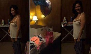 Την έπιασε να τον απατά και της έκανε... δώρο-έκπληξη στα γενέθλιά της - Δείτε το βίντεο