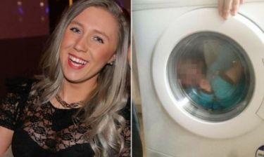 Ανέβασε στο Facebook παιδί με σύνδρομο Down «εγκλωβισμένο» σε πλυντήριο