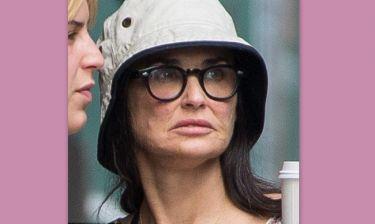 Είδαμε το πρόσωπο της Demi Moore χωρίς photoshop και… «παγώσαμε»!