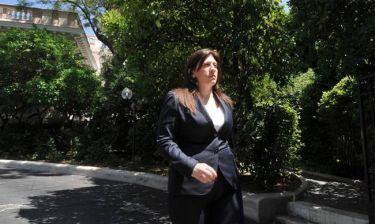 Κωνσταντοπούλου: Αδιαπραγμάτευτη η κοινή στράτευση του πρωθυπουργού και η δική μου