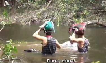 Αυτό θα πει τρόμος. Η στιγμή Μαυρίδη-Τανιμανίδη στον Αμαζόνιο που «πάγωσε» τους τηλεθεατές