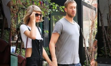 Φουλ του έρωτα: O Calvin Harris & η Taylor Swift κάνουν το πρώτο μεγάλο βήμα στη σχέση τους