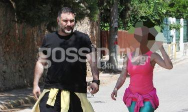 Αρναούτογλου: Στο Ηράκλειο χωρίς τη σύντροφό του Κατερίνα Κόκλα αλλά με την…