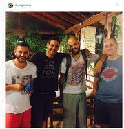 Η φωτογραφία του Δημήτρη Ουγγαρέζου στο Instagram και το μήνυμα όλο νόημα περί φιλίας!