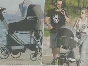 Ανθόπουλος-Κίλια: Πρώτη βόλτα με το μωρό τους