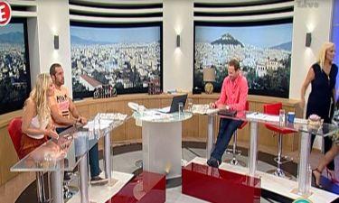 Αποχώρησε από την εκπομπή της η Χριστίνα Λαμπίρη μετά από ατάκα της συντρόφου του Ουγγαρέζου!