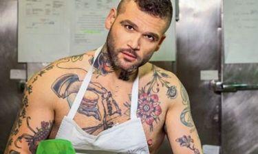 Διονύσης Αλέρτας: «Ήμουν πολύ κατά των τατουάζ αλλά…»