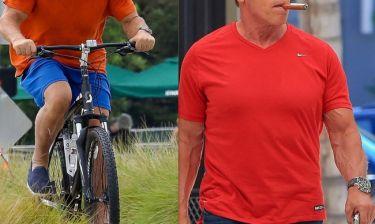 Μετά την ποδηλατάδα…κάπνισε πούρο!