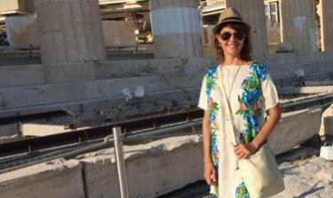 Νία Βαρντάλος: Στιγμιότυπα από τις διακοπές της στην Ελλάδα