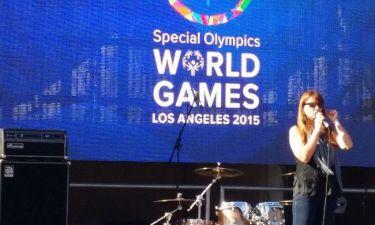 Η Αναστασία Ζαννή στα Special Olympics