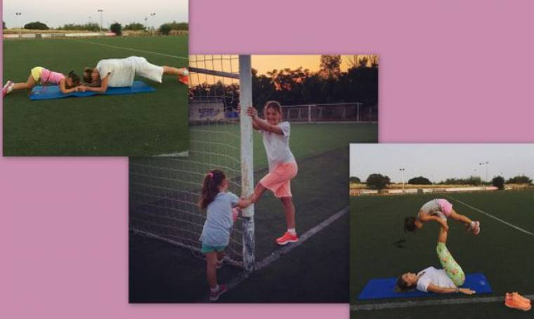Despoina's little stories: «Γυμναστική με το κορίτσι μου!»