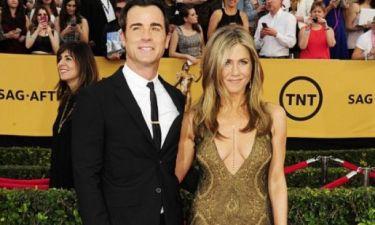 H πιο αμήχανη στιγμή στο γάμο των Aniston-Theroux: Ποιοι δύο stars ήρθαν σε δύσκολη θέση;