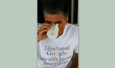Η απίστευτη μπλούζα του Ευαγγελάτου που «τρέλανε» το διαδίκτυο
