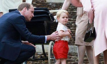 Μπάκιγχαμ κατά παπαράτσι για τις φωτογραφίες του Πρίγκιπα George