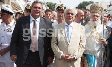 Φωτογραφικό υλικό από τους εορτασμούς στην Τήνο παρουσία του Προέδρου της Δημοκρατίας