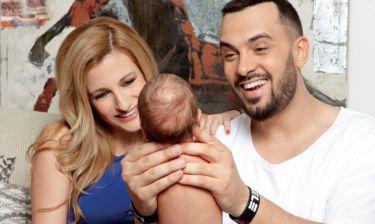 Χρήστος Ανθόπουλος – Σοφία Κίλια: Οι πρώτες στιγμές με το μωρό τους