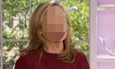 Δημοσιογράφος πήγε στην εκπομπή με μαυρισμένο μάτι