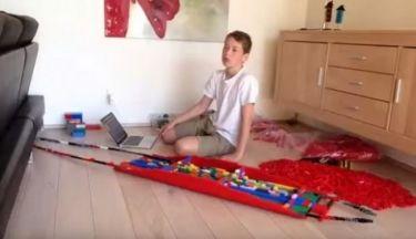 Φανταστικό: Δείτε τι έφτιαξε αυτό το παιδί με τα Lego-Δεν πάει ο νους σας (βίντεο)